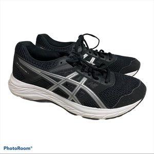 Asics Black Comfort Sneakers Amplifoam Size 7